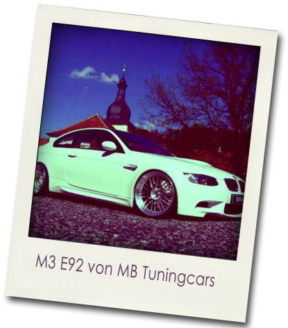 bmw m3 e92 tuning von mb tuningcars. Black Bedroom Furniture Sets. Home Design Ideas