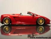Lamborghini Gallardo Spyder 560-4 Tuning von Modelltuner.ch